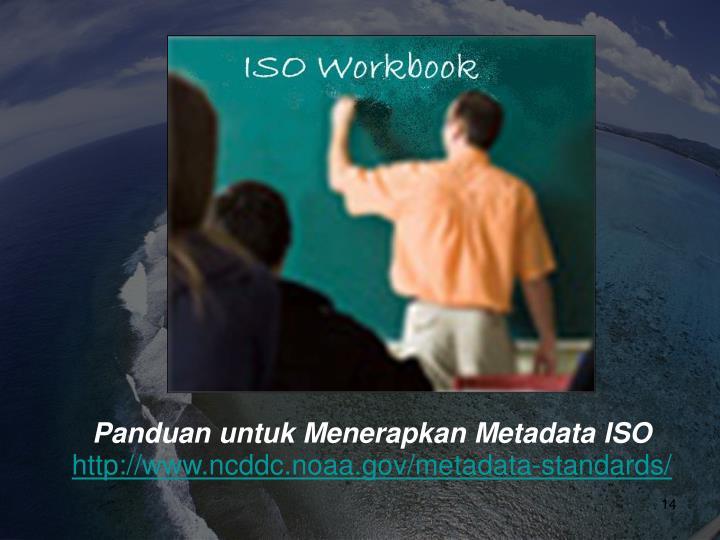 Panduan untuk Menerapkan Metadata ISO