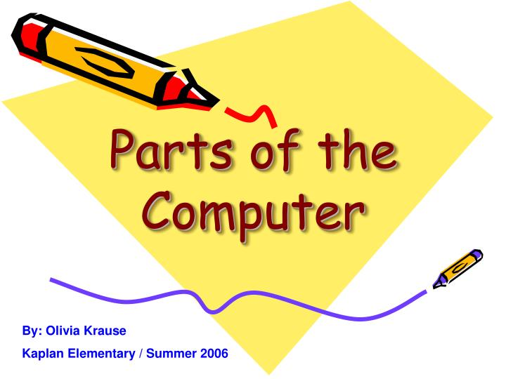 parts of the computer n.