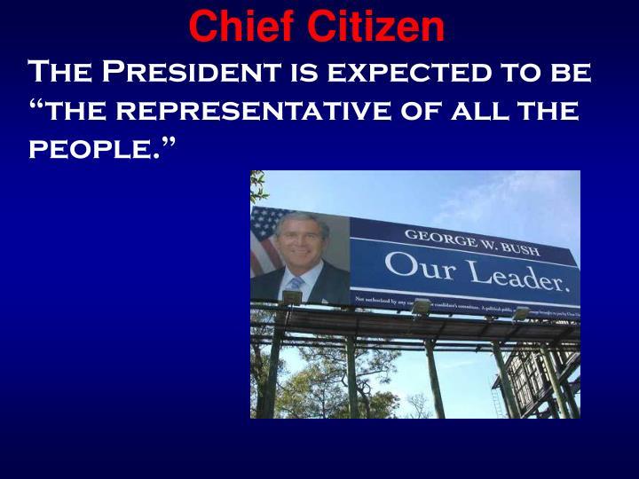 Chief Citizen