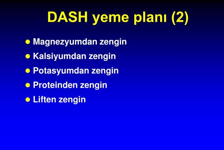 DASH yeme planı (2)