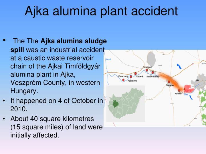 Ajka alumina plant accident