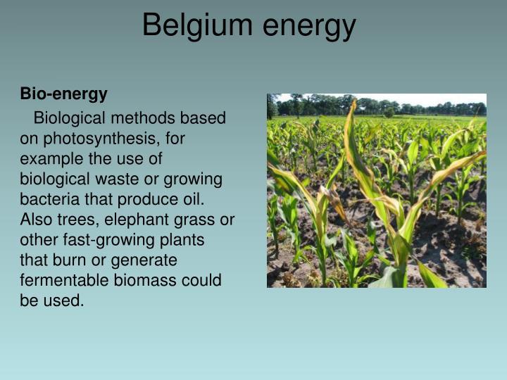Belgium energy