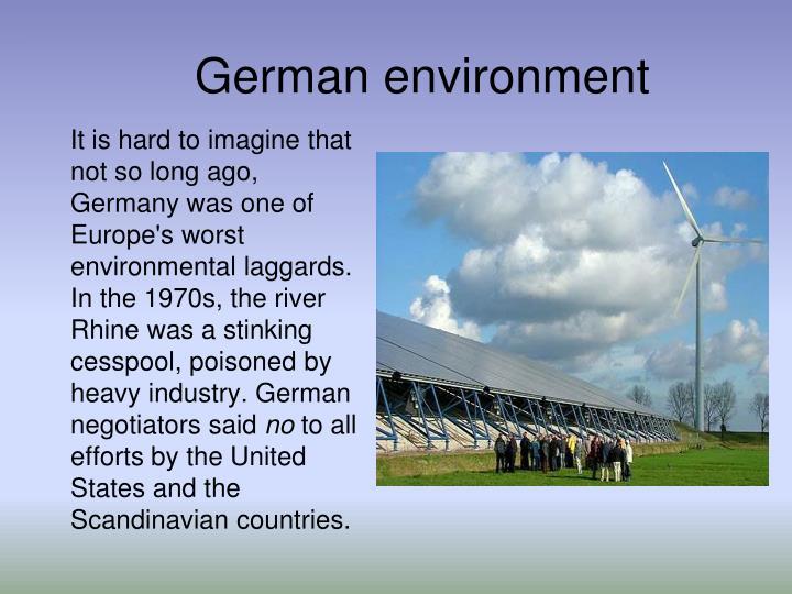 German environment
