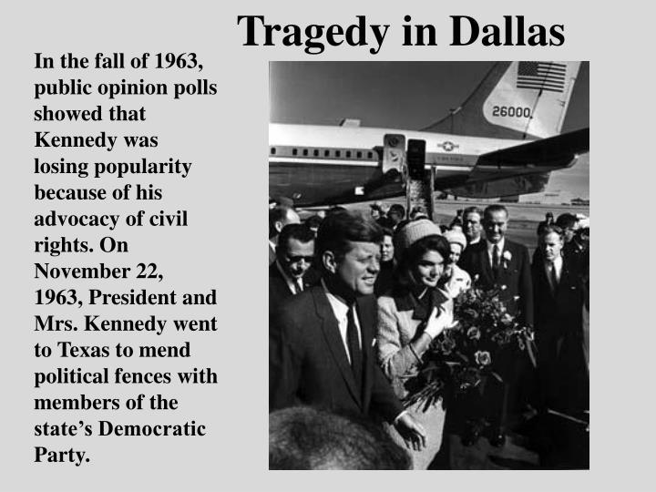 Tragedy in Dallas
