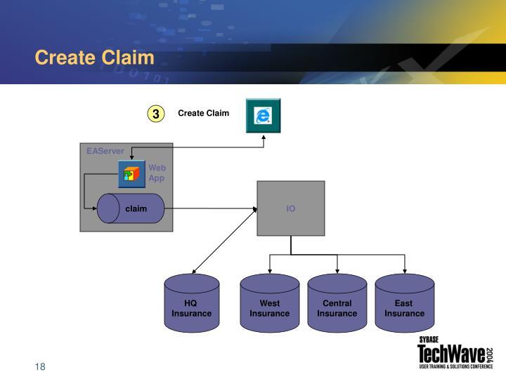 Create Claim