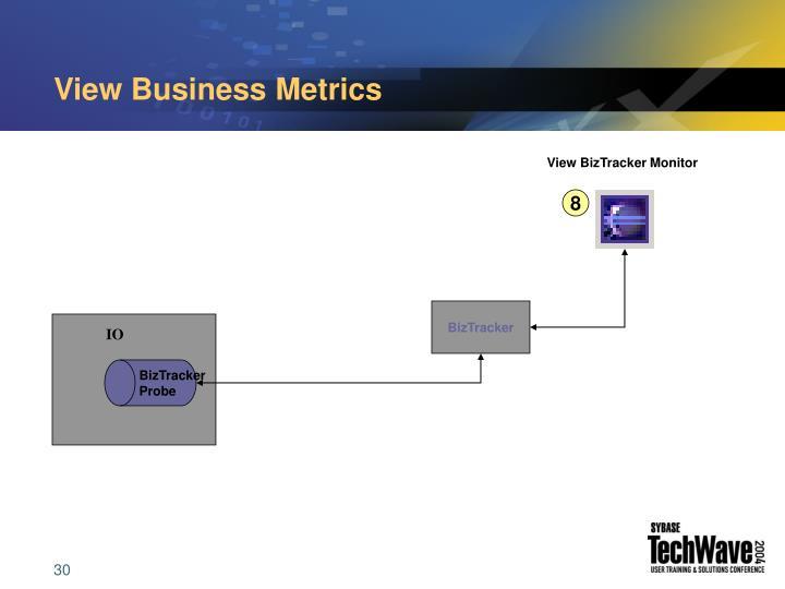 View Business Metrics