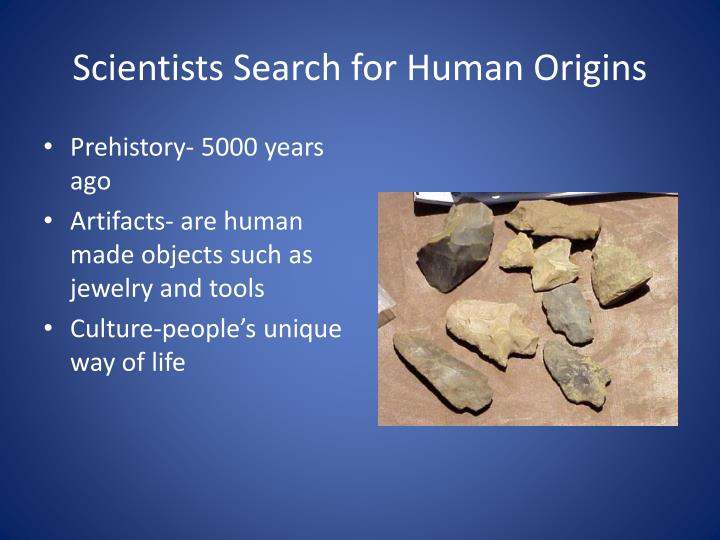 Scientists search for human origins