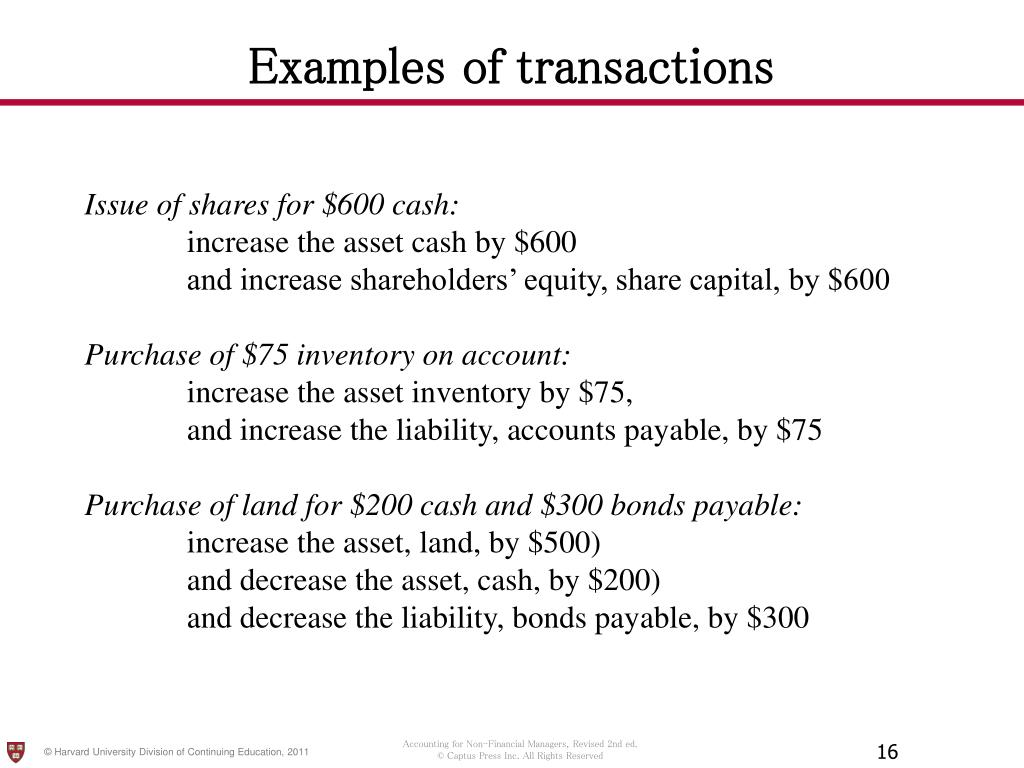 PPT - Accounting for the Nonfinancial Manager Chapter 2: The