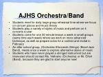 ajhs orchestra band
