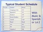 typical student schedule3