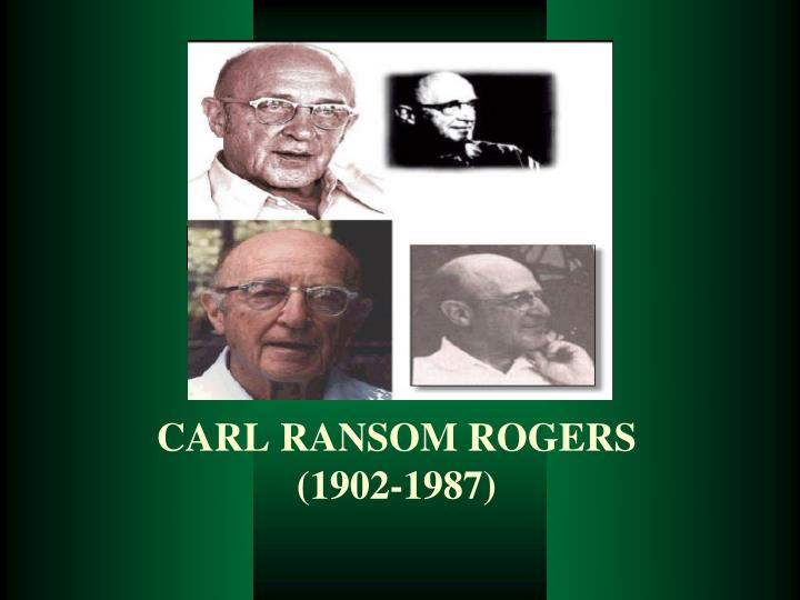 carl roger transcript Client-centered therapy was developed in the 1930s by the american psychologist carl rogersrogers was a humanistic psychologist who believed that how we live in the here-and-now and our current.