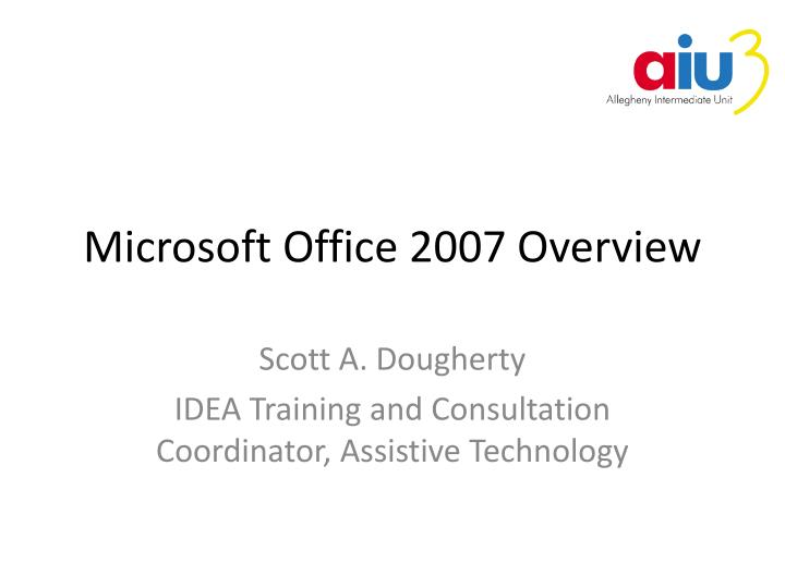microsoft office 2007 overview n.
