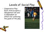 levels of social play4