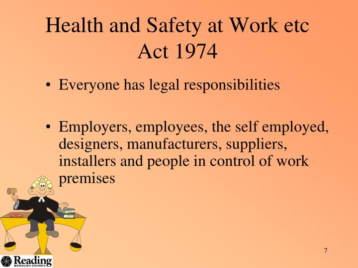 powerpoint presentation on health and safety at work