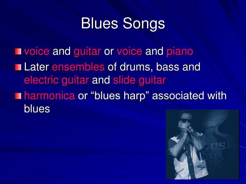 Blues Piano Songs