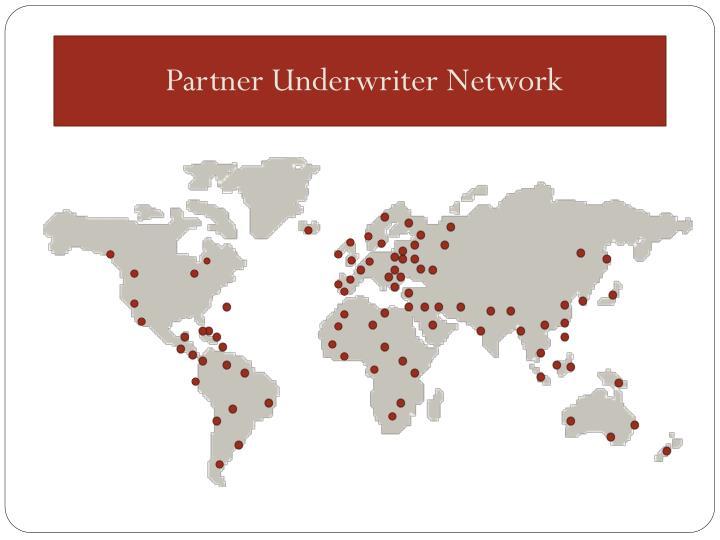 Partner Underwriter Network