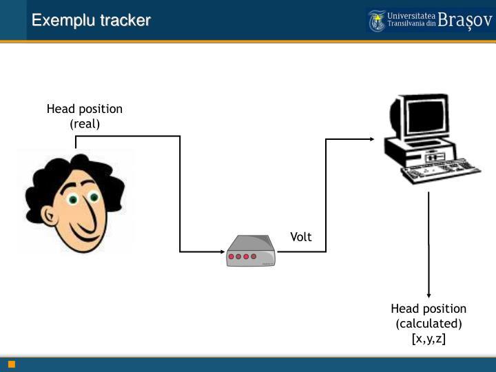 Exemplu tracker