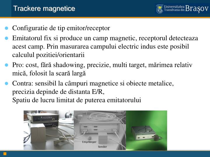 Trackere magnetice