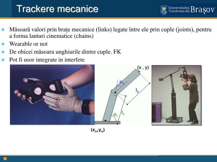 Trackere mecanice