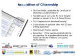 acquisition of citizenship12