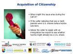 acquisition of citizenship6