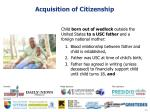 acquisition of citizenship8
