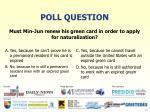 poll question11