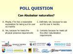 poll question14