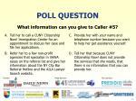 poll question21
