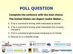 poll question8