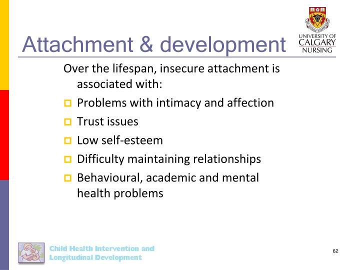 Attachment & development