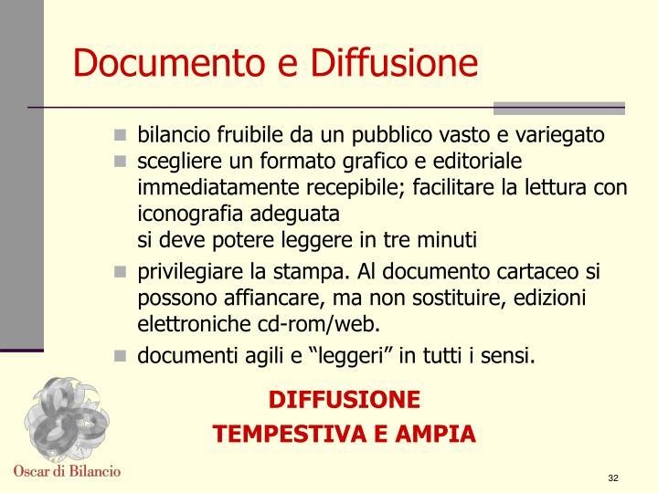 Documento e Diffusione