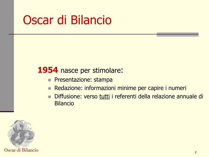 Oscar di bilancio1