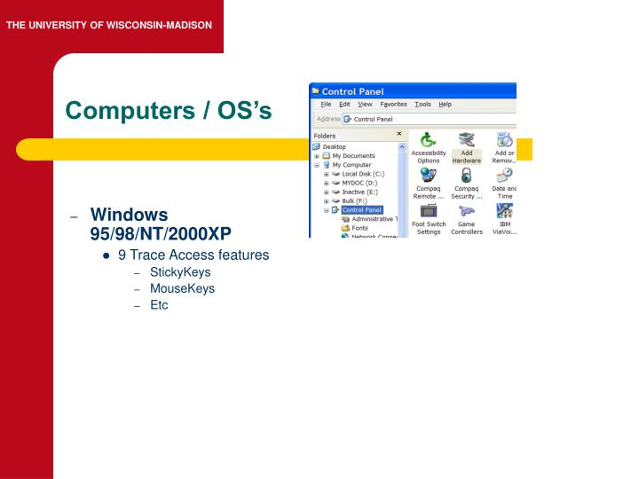 Computers / OS's