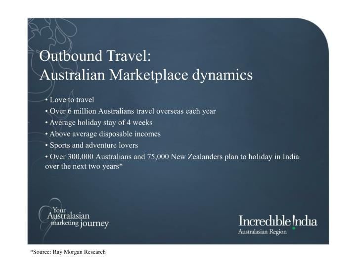 Outbound Travel: