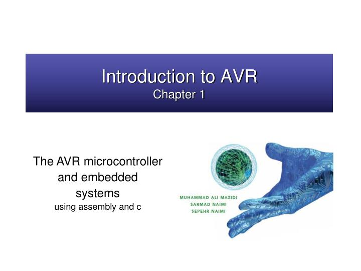 Introduction to avr chapter 1