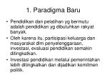 1 paradigma baru