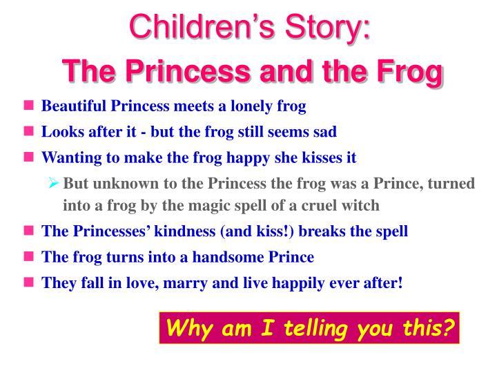 Children's Story: