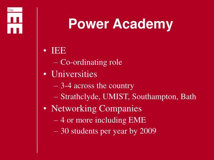 Power Academy