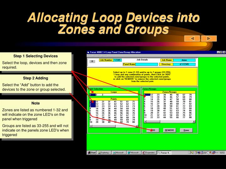 Allocating Loop Devices into