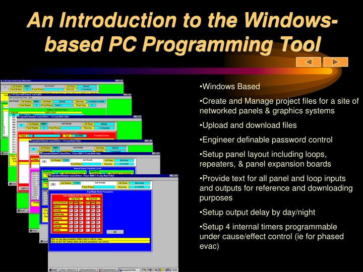 An introduction to the windows based pc programming tool