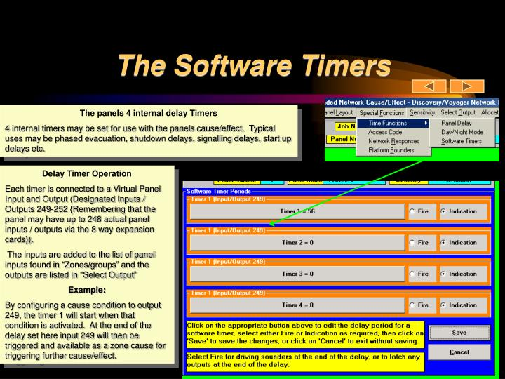 The Software Timers