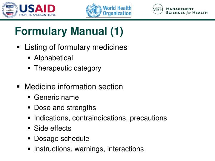 Formulary Manual (1)
