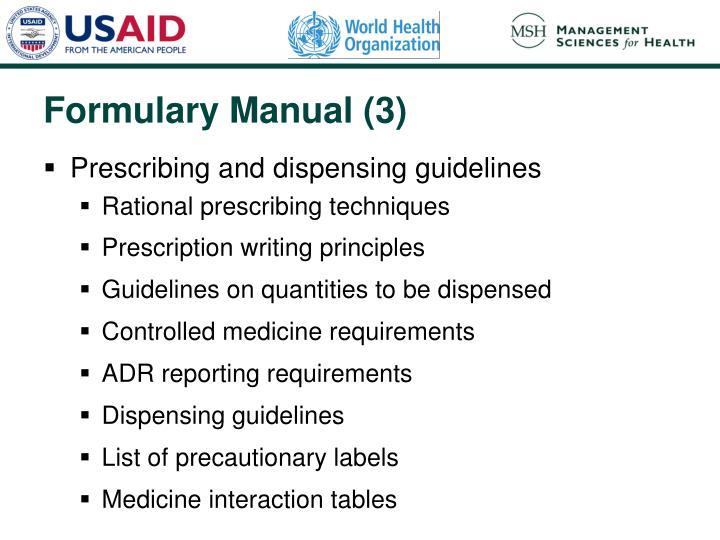 Formulary Manual (3)