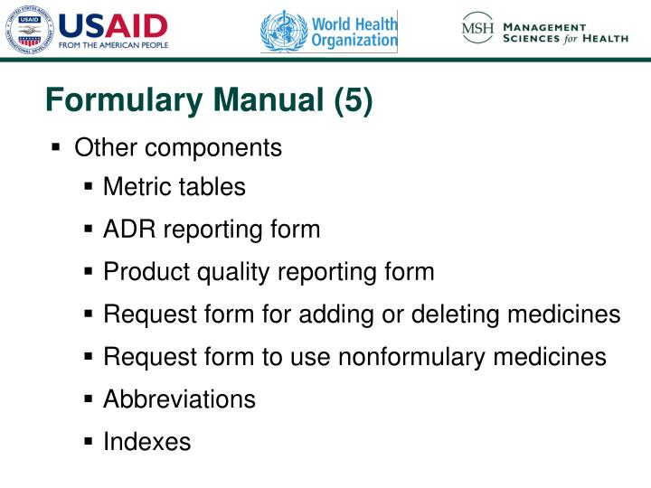 Formulary Manual (5)