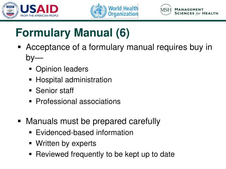 Formulary Manual (6)