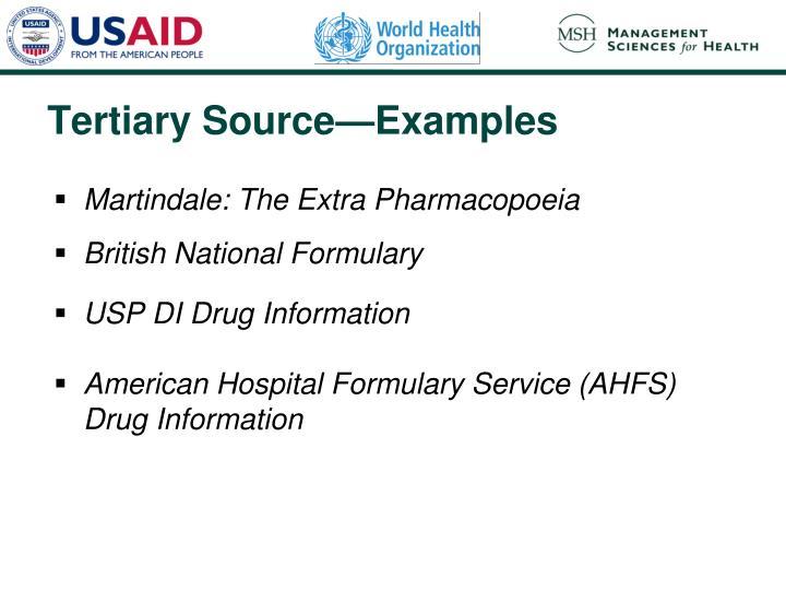 Martindale: The Extra Pharmacopoeia