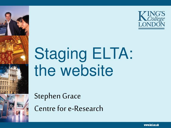 staging elta the website n.
