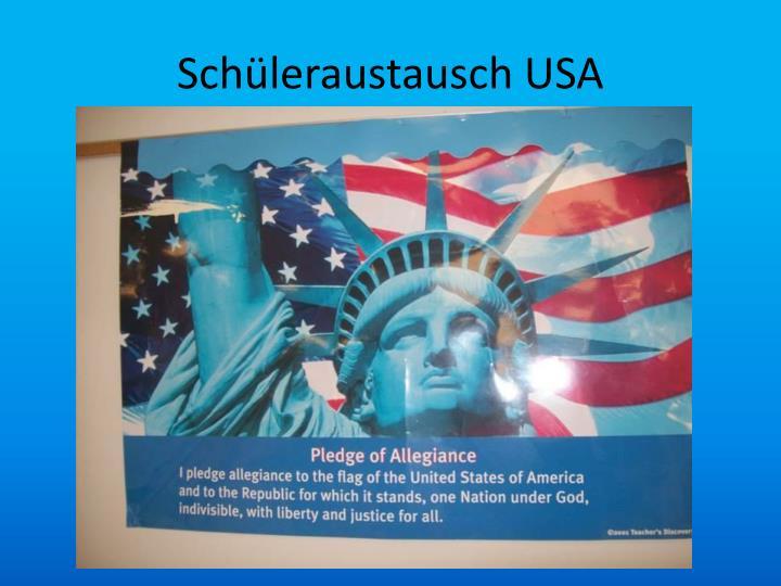 Schüleraustausch USA