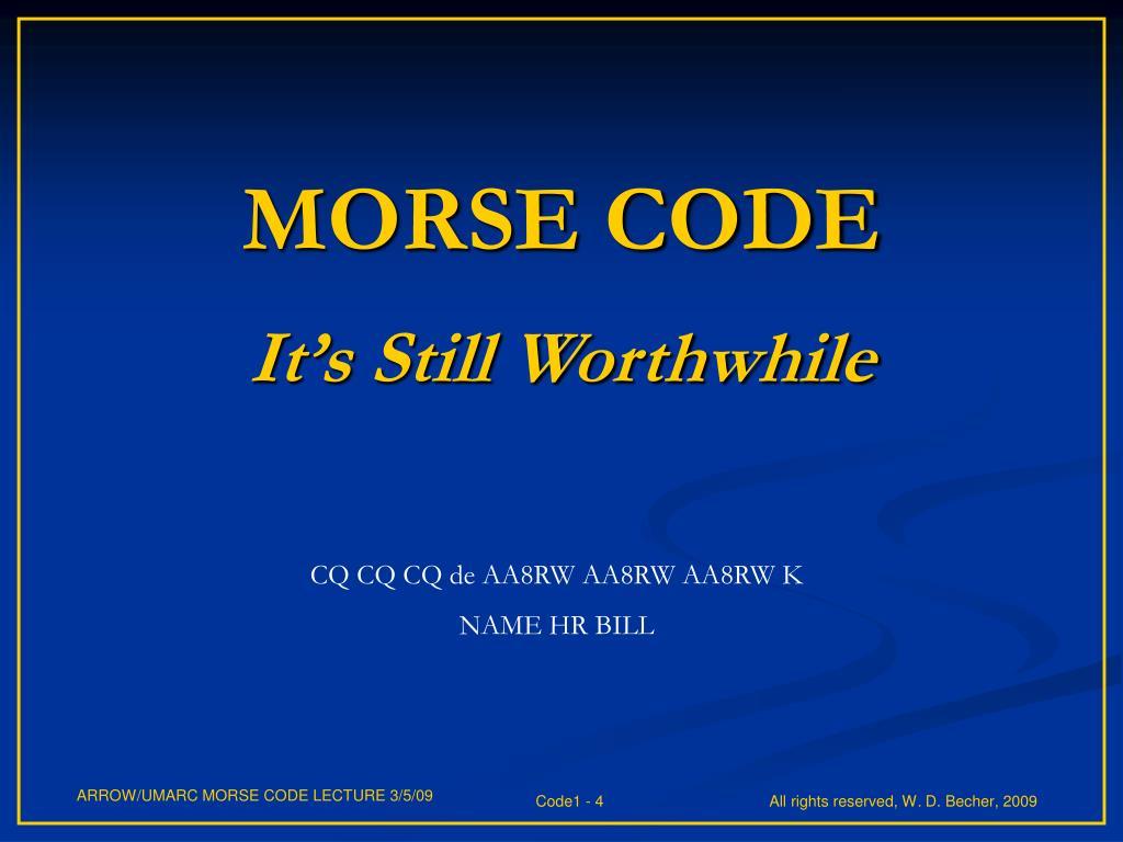 PPT - Morse Academy PowerPoint Presentation - ID:3849300